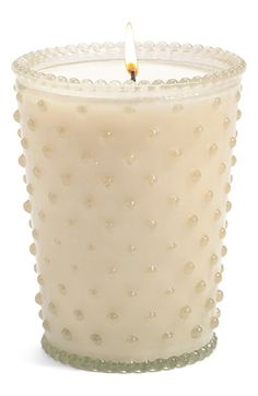 Gorgous hobnail candles