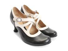Clear platform heels feet