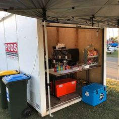 Event storage for the RQYS - coffee and drinks station Secure Storage, Self Storage, Storage Pods, Storage Containers, Pods Moving, Impact Event, Temporary Storage, Big Houses, Storage Solutions