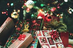 Beautifully wrapped presents..