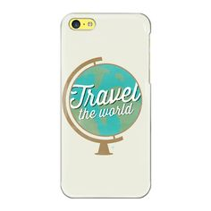 iPhone 7 Plus/7/6 Plus/6/5/5s/5c Case - Travel The world (39 CAD) ❤ liked on Polyvore featuring accessories, tech accessories, iphone case, iphone cover case, slim iphone case, iphone cases and apple iphone case