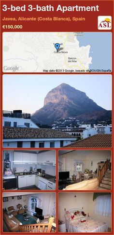 3-bed 3-bath Apartment in Javea, Alicante (Costa Blanca), Spain ►€150,000 #PropertyForSaleInSpain