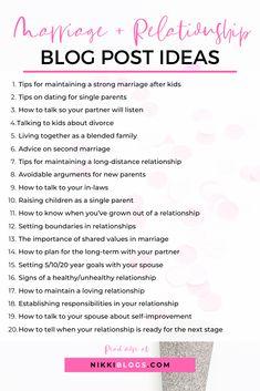 Relationship Goles Graduacion - - Relationship Trust Issues - Relationship Tips 101 Mama Blogs, Relationship Blogs, Strong Marriage, Blog Topics, Blog Writing, Writing Prompts, Single Parenting, Make Money Blogging, Blogging Ideas