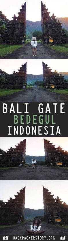 Guide: Bali Gate Maldives Travel, Bali Travel, Travel And Tourism, Gili Island, Travel Guides, Travel Tips, Go Outdoors, Top Destinations, Travel Memories