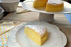 Pastel de queso con 3 ingredientes: huevos, chocolate blanco y queso crema