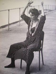 Isabella Rossellini by Steven Meisel - D&G campaign f/w 89-90.