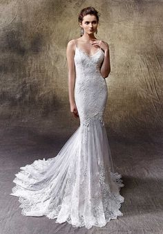 Enzoani Lexi Mermaid Wedding Dress