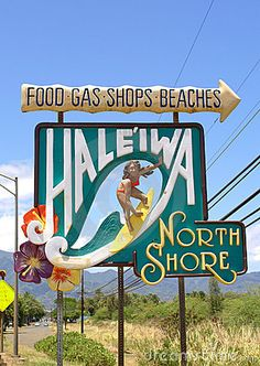 Haleiwa, North Shore, Oahu, Hawaii ... go find Jack Johnson and catch some waves!
