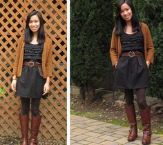 black and brown love-Caitlin, a college fashionista from San Francisco