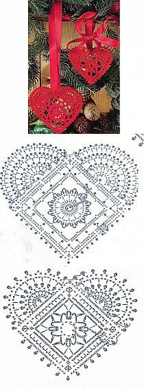 Crochet Patterns Gifts Christmas - Christmas balls - Urszula Niziołek - Picasa We . Filet Crochet, Crochet Motifs, Crochet Diagram, Crochet Chart, Thread Crochet, Crochet Doilies, Crochet Flowers, Crochet Patterns, Crochet Stitches