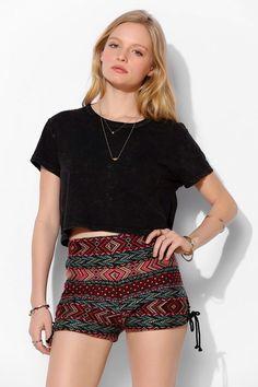 Urban Outfitters Shorts Ecote Tribal / Aztec Print Shorts Sz 2, 4, 6, 8 Nwot