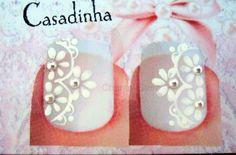Adesivos de unhas artesanais feitos a base toxic free De facil aplicação Vendas atacado e varejo Nail Arts, Manicure And Pedicure, Baby Shoes, Nails, Manicures, Stickers, Design, White Nail Beds, Nail Jewels