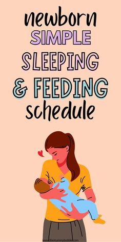 A simple newborn baby schedule that works. Tips for how to get your newborn into a very simple daily routine (no we are not talking about exact timings here!). This will help your baby and you in the early weeks. Sleep Train Newborn, Baby Sleep, Newborn Baby Tips, Cry It Out, Baby Schedule, Bedtime Routine, How To Stay Awake, New Mums, Baby Needs