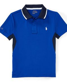 Tech Mesh Polo Shirt - Boys 2-7 Short Sleeve - RalphLauren.com