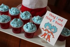 Dr Suess 1st birthday party theme ideas