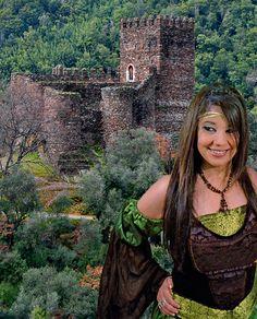 Castelo de Arouce, serra da Lousã, Portugal