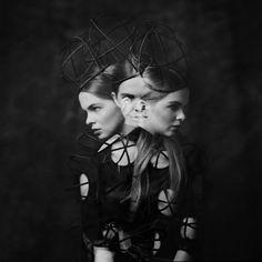 cage model: Natalia ML Studio dress: Magdalena Herwich