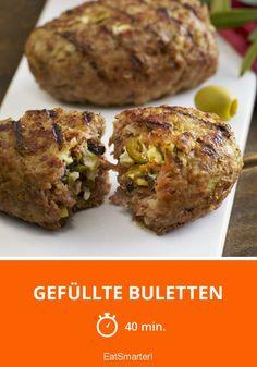 Gefüllte Buletten - smarter - Zeit: 40 Min. | eatsmarter.de