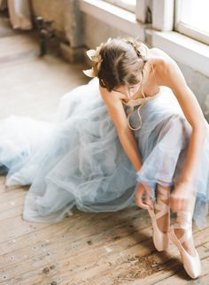 Koby brown, archetype photography. Butterfly ballet. Tulle skirt and pointe shoes. This is an absolutely beautiful photo, archetype!!! Flowers and soft braids in hair. Koby brown. Koby ballet photography.