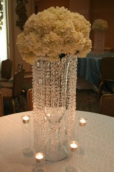Reception Decor: #1 (Place on Dessert/Guestbook/Favor Tables)