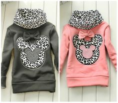 Minnie Turtle neck sweater  Available in Pink, Grey, Orange and Yellow