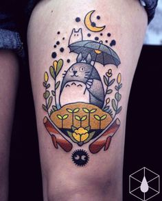 Totoro by Encre Mécanique