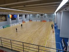 Removable parquet Dalla Riva Sportfloors is destined to sporting activities such as basketball, volleyball and handball