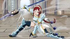 Erza Scarlet FairyTail anime