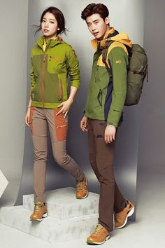 Check out More photos of Park Shin HYe and Lee Jong Suk as They Endorse Millet | Koogle TV