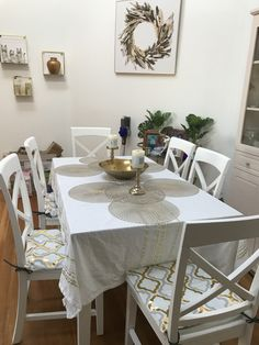 Table Settings, Dining Table, Furniture, Home Decor, Table Top Decorations, Dinning Table, Interior Design, Dining Rooms, Place Settings