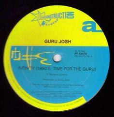 Guru Josh - Infinity (1990's...Time For The Guru) (Vinyl) at Discogs