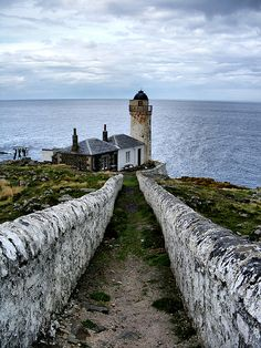 Isle of May - The Path to the Low Ligh