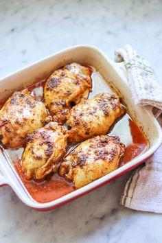 Baked Lemon Chicken Breasts New Chicken Recipes, New Recipes, Cooking Recipes, Healthy Recipes, Turkey Recipes, Chicken Ideas, Healthy Eats, Cooking Tips, Chicken