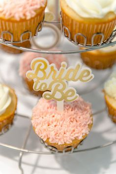 Yes Way Rose Bridal Shower Bride to Be Cupcake. Bridal shower party ideas