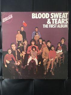 Blood Sweat and Tears The First Album Original 1973 Vinyl Album by NicholasAllSorts on Etsy https://www.etsy.com/uk/listing/511078393/blood-sweat-and-tears-the-first-album