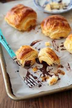 Chocolate Croissants: small batch recipe with easy to follow steps