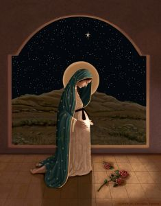"""""""Mother of Life"""" by Nellie Edwards - Catholic to the Max - Online Catholic Store Divine Mother, Blessed Mother Mary, Blessed Virgin Mary, Catholic Gifts, Catholic Art, Religious Art, Catholic Store, Roman Catholic, Images Of Mary"""