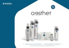 Advanced skin care treatments Essel's Aesthet Professional Salon Range