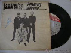 DISCO LAMBRETTAS - Poison Ivy / Runaround (Single 45 rpm) 1980