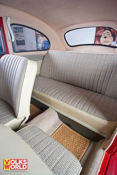 Another option for the interior Más #VolkswagenBeetle
