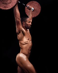 Arizona Cardinals wide receiver Larry Fitzgerald by Richard Phibbs for ESPN Magazine Body Issue Larry Fitzgerald, Jamie Anderson, Style Masculin, Body Issues, Beautiful Athletes, Live Wire, Michael Phelps, Arizona Cardinals, Fotografia