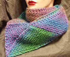 Wool Blend Handmade Knit Scarf by BeachBumKnits on Etsy