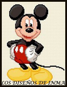 PDF Gráfico Punto de Cruz, Disney 8, Disney Punto de Cruz, Disney
