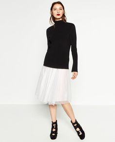 Image 1 of RIBBED SWEATER from Zara