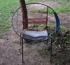 Una silla con vida eterna en el Vichada.