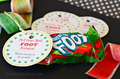 Check out these fun printables I made to go with Fruit by the Foots - What a fun way to cheer on your kids!