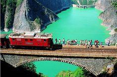 The Chemin de Fer de La Mure (the Mure railway) is a tourist railway in the department Isère near the city of Grenoble, France
