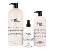 Philosophy 3-piece super-size cream favorites bath & body set