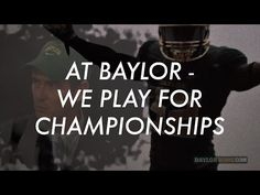 At Baylor, We Play for Championships - Baylor vs. Kansas State 2014 Hype Video - YouTube