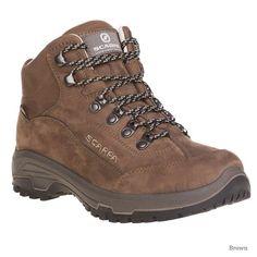 Ladies Karrimor Mount Mid 7 Walking Hiking Weathertite Grey Pink Womens Boots